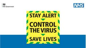 Campaña coronavirus Reino Unido