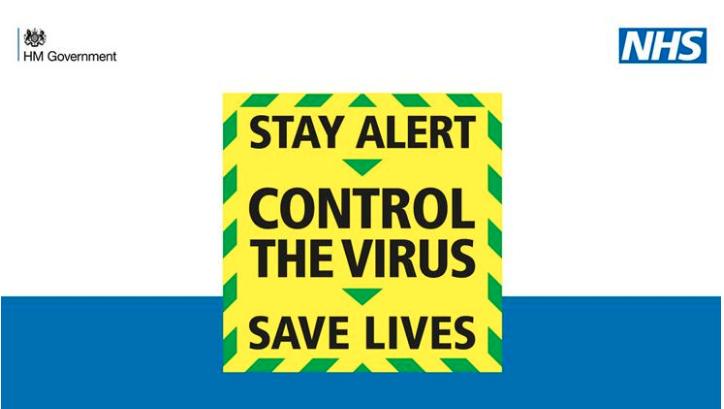 Campaña de prevención de Coronavirus en Reino Unido