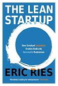 """cubierta del libro """"El método lean startup"""""""